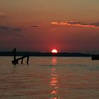 End of Another Hot Day by Eileen McVey