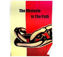The Obstacle Poster