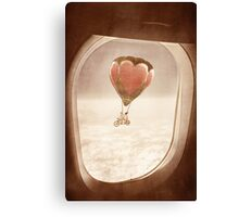 Saturday Dream - A Plane with a View Canvas Print