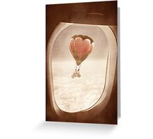 Saturday Dream - A Plane with a View Greeting Card