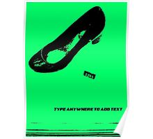 Green Shoe Poster