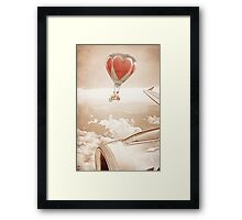 Wednesday Dream - Chasing Planes Framed Print