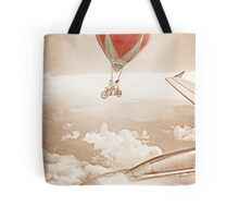 Wednesday Dream - Chasing Planes Tote Bag