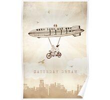 Saturday Dream - Love and Peace Flight Poster