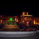 Trafalgar Square Olympic Clock by Victoria limerick