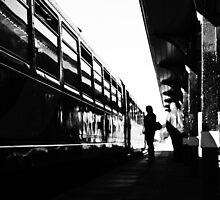 Station Silhouette  by AndrewBerry