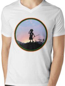 Riddler Kid Mens V-Neck T-Shirt