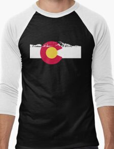 Colorado mountains Men's Baseball ¾ T-Shirt