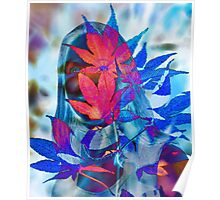 Madonna of the Leaves Poster