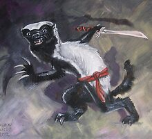 Ninja Honey Badger by Ellen Marcus