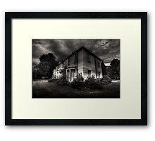 Morden hall Cottages Framed Print