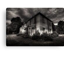 Morden hall Cottages Canvas Print