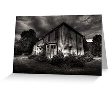 Morden hall Cottages Greeting Card