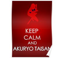 Keep Calm - Sailor Mars Poster 2 Poster