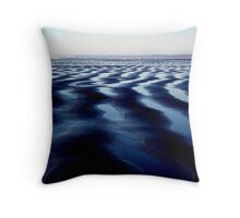 Ocean Shores, Washington - Digital Print Throw Pillow
