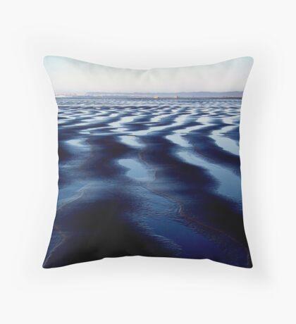 Ocean Shores, Washington - Digital Print Throw Pillow