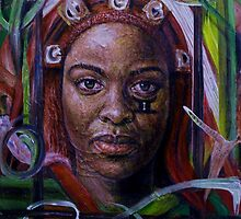 African Woman by Edward Ofosu