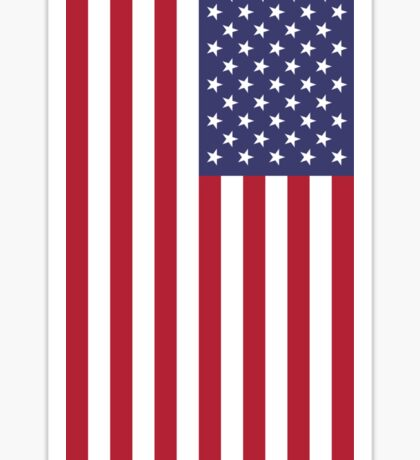 USA - American Flag - iPhone Phone Cover Sticker