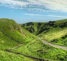 Winnats Pass by cameraimagery