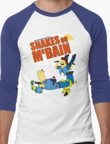 Snakes on McBAIN Men's Baseball ¾ T-Shirt