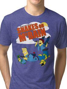 Snakes on McBAIN Tri-blend T-Shirt
