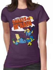 Snakes on McBAIN Womens Fitted T-Shirt