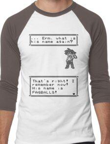 Gary Oak. Men's Baseball ¾ T-Shirt