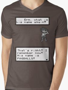 Gary Oak. Mens V-Neck T-Shirt