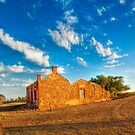 Old Farmhouse - Red Creek Road, Brinkley, SA by Mark Richards