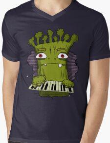 Broccoli Man Mens V-Neck T-Shirt