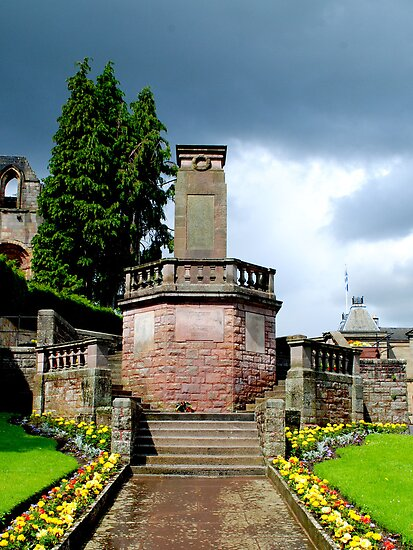 War Memorial, Jedburgh, Scotland by Dorothy Thomson
