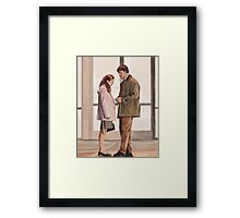 Swaying isn't Dancing Framed Print