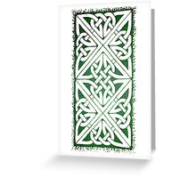 Celtic Greetings Greeting Card