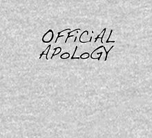 Official Apology Clothing Unisex T-Shirt