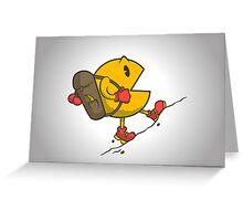 Do you like to bac-pac? Greeting Card