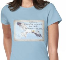Sirkels in die son Womens Fitted T-Shirt