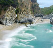 McWay Falls, Julia Pfeiffer State Park, Big Sur, California by Pete Paul