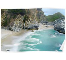 McWay Falls, Julia Pfeiffer State Park, Big Sur, California Poster
