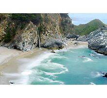 McWay Falls, Julia Pfeiffer State Park, Big Sur, California Photographic Print