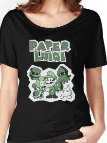 Paper Luigi Women's Relaxed Fit T-Shirt