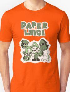 Paper Luigi T-Shirt
