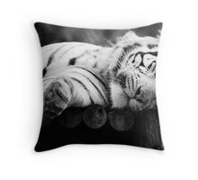 If you snooze, you lose. Throw Pillow