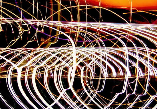 Lightpaint Abstract by dgscotland