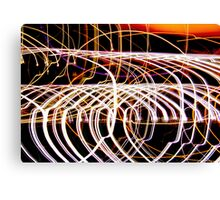 Lightpaint Abstract Canvas Print