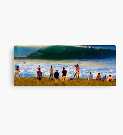 Check It Out Dude! Canvas Print