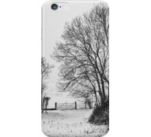 Blanket of snow iPhone Case/Skin