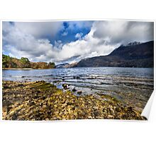 Loch Maree - the Scottish Highlands Poster