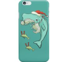 Christmas Whale iPhone Case/Skin