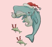 Christmas Whale Kids Clothes