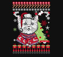 Cat  Ugly Christmas Sweater Unisex T-Shirt